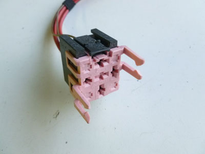 1997 BMW 528i E39 - Pink Relay Holder Connector w/ Pigtail 83670882